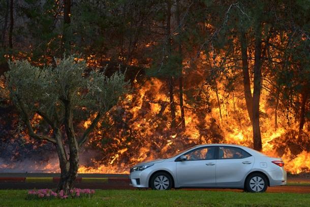 Пожежа у Хайфу
