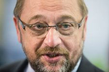40096820 - riga, latvia - may 22, 2015: eastern partnership sammit. european parliament president martin schulz