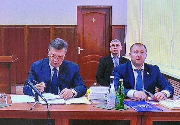 Янукович суд