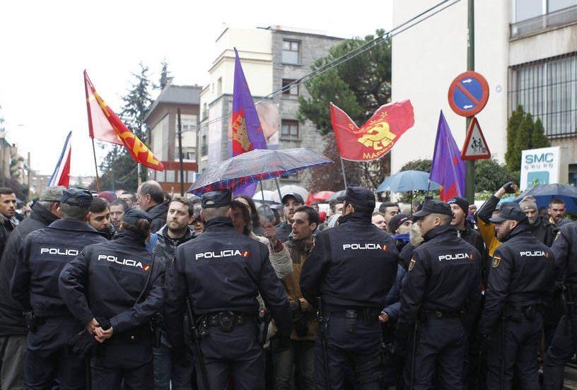 Мадрид сутички поліція
