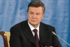 23705989 - donetsk, ukraine - oct 18: the president of ukraine viktor yanukovych at the ii ukrainian-russian interregional economic forum, october 18 2011, donetsk, ukraine