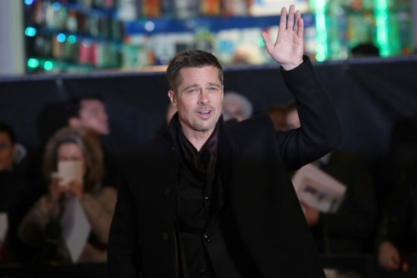 Actor Brad Pitt poses for photographers upon arrival at the premiere of the film 'Allied' in London, Monday, Nov. 21, 2016. (Photo by Vianney Le Caer/Invision/AP)