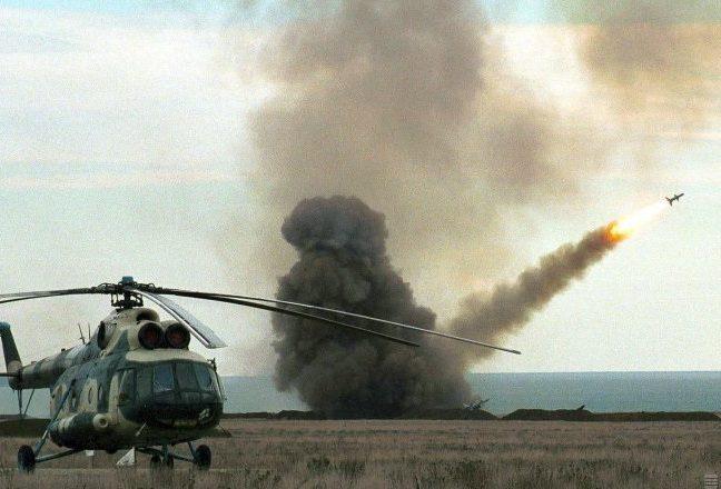 Старт зенітної ракети комплексу ППО Круг