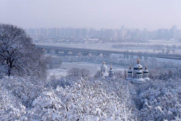 Зима в Києві