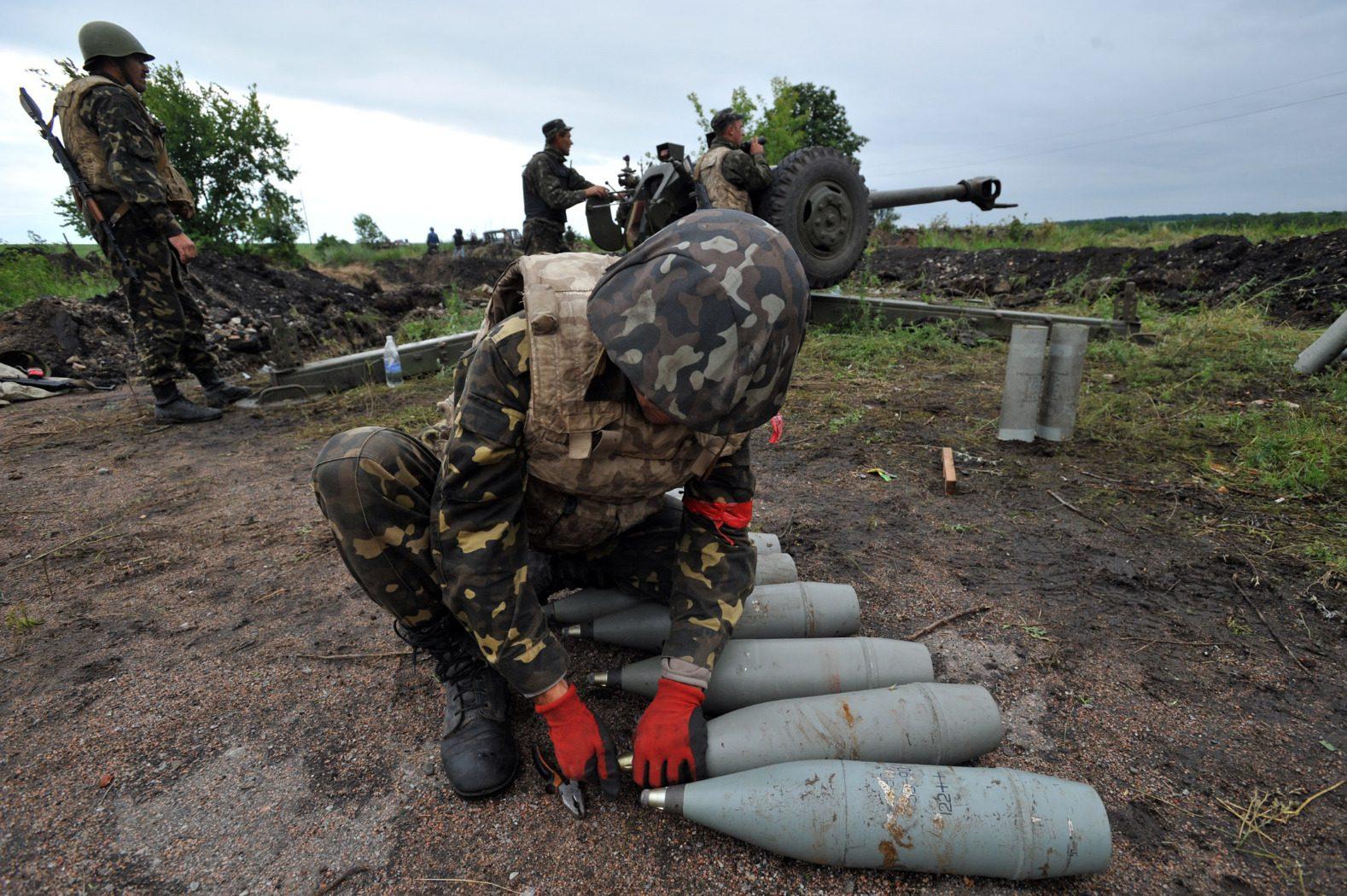 Боевики применили зенитные установки поНовоалександровке— Штаб АТО
