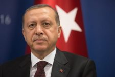 57066672 - istanbul, turkey - may 23, 2016: turkish president recep tayyip erdogan during world humanitarian summit in istanbul