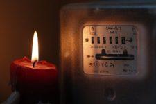 лічильник світло свічка електрика