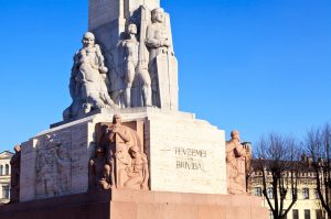 Монумент Свободи в Ризі