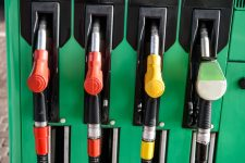 59950756 - petrol station nozzles