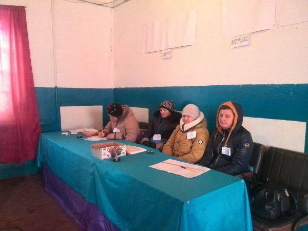 Наизбирательном участке вДнепропетровской области обвалилась крыша