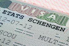 21427526 - close up schengen visa in the passport