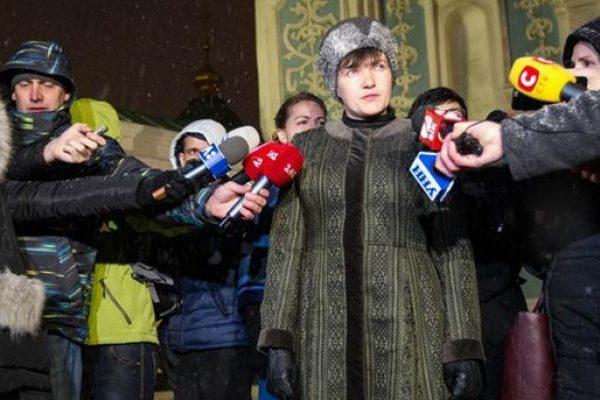Савченко у шапці