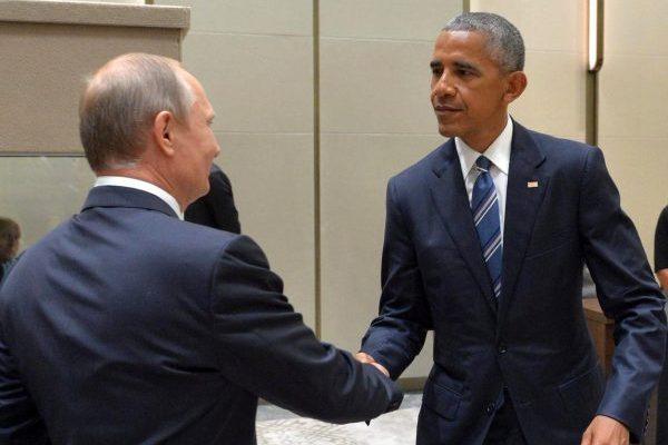 Обама: ялично предупредил В.Путина обответе нахакерские атаки