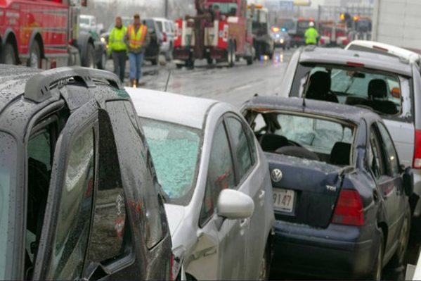 Автокатастпофа у США