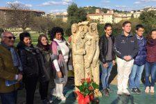 Відкриття пам'ятника жертвам голодомору