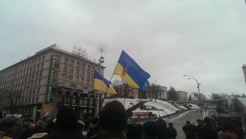 Владельцы уничтоженных МАФов завалили мусором киевскую мэрию
