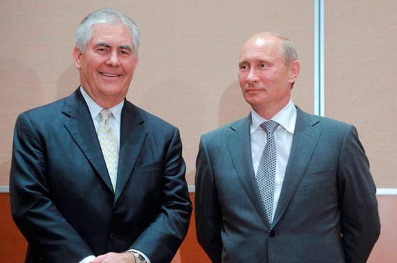 Путін і Тіллерсон
