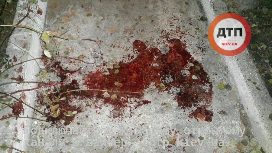 Вцентре украинской столицы парень, неполучив желанного, хладнокровно расстрелял 2 человек