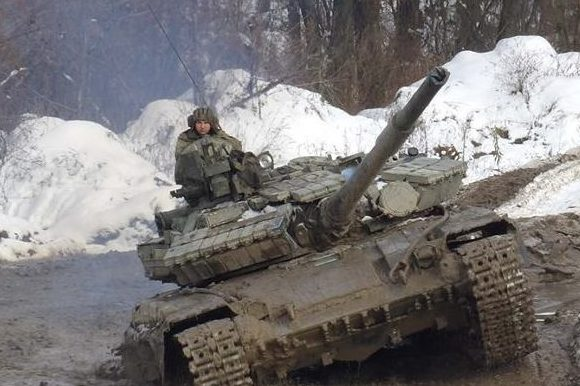 танк ЗСУ АТО