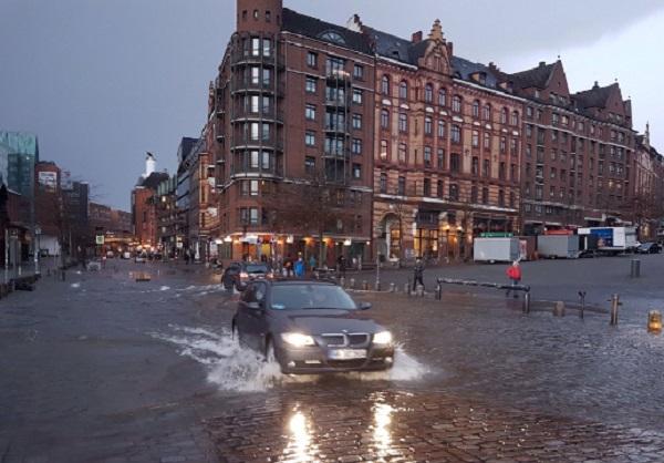 Німеччина повінь Гамбург
