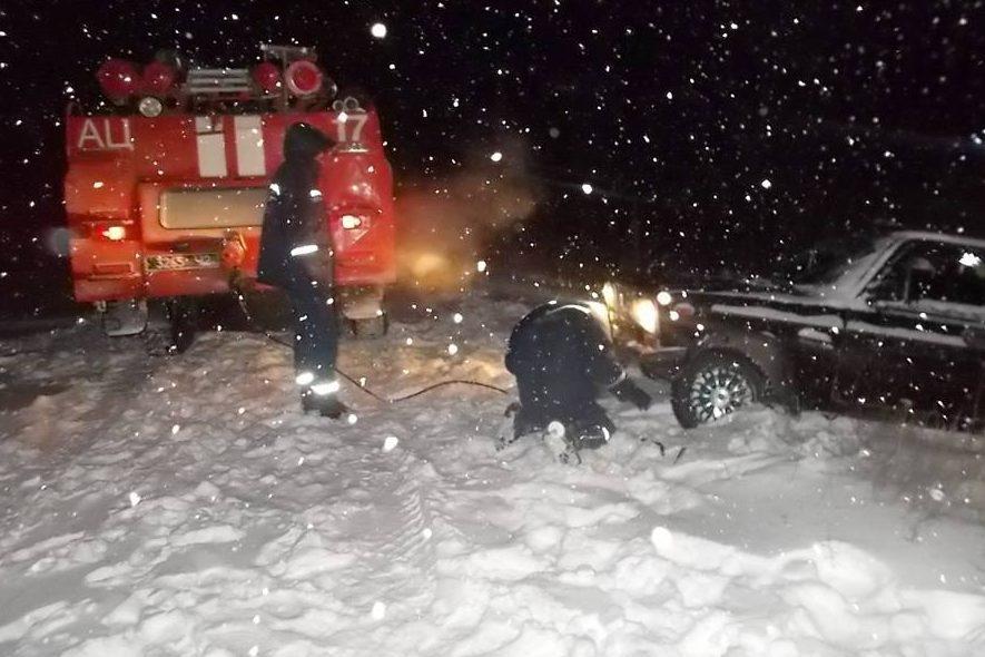 ДСНС зима авто