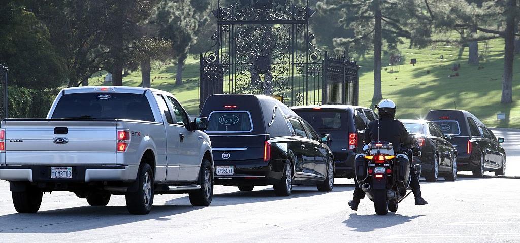 Гері Фішер похорон Getty Images