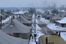 польовий табір резервістів