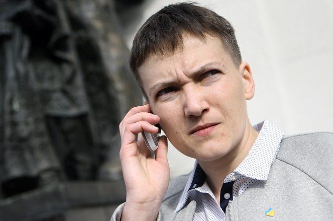 Савченко предложила навремя отказаться отКрыма