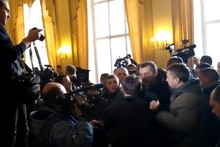 Львів міськрада бійка