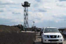 Стену на границе с Россией заморозили – пограничники опровергают