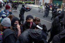 США трамп протести