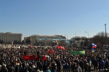 Харків проросійський мітинг березень 2014