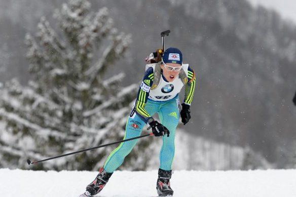 Украинка завоевала «бронзу» наЧЕ побиатлону вПольше