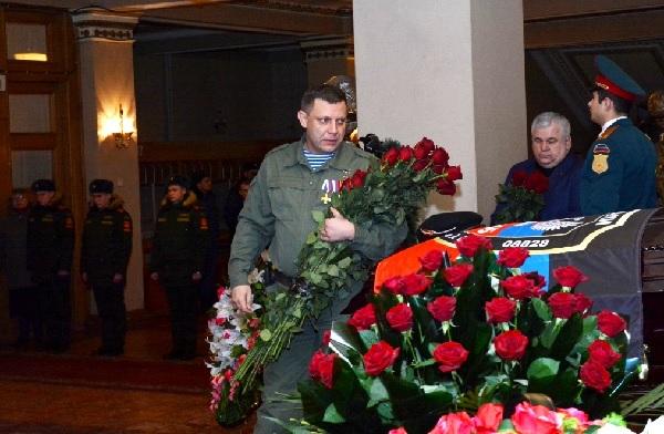 Гіві похорон Захарченко