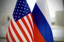 РФ США прапори