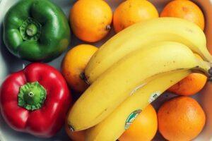 овочі фрукти