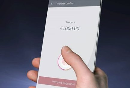 Apple встроит сканер отпечатка пальца прямо всенсорный экран