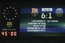 Барселона ПСЖ 6:1
