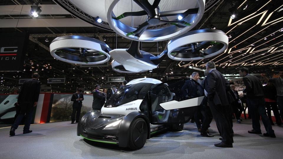 Компания Airbus представил концепт-кар летающего автомобиля