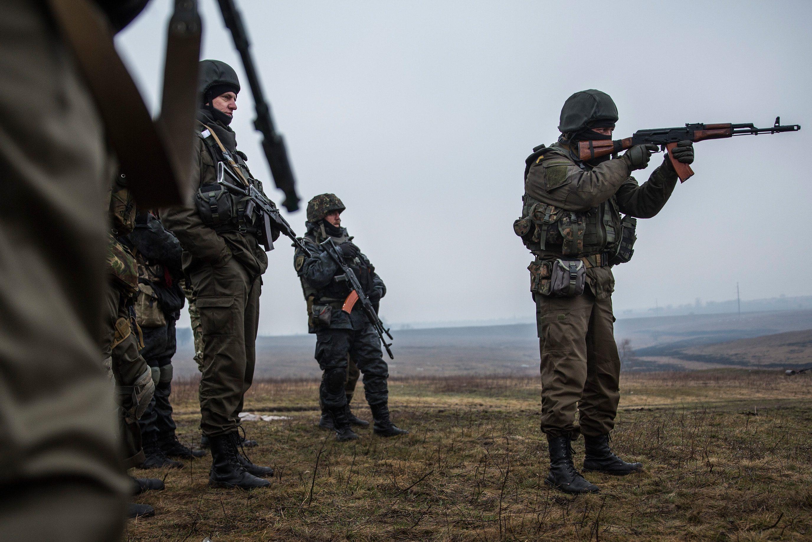 Военные показали, как боевики обстреливают из«Градов» Водяное