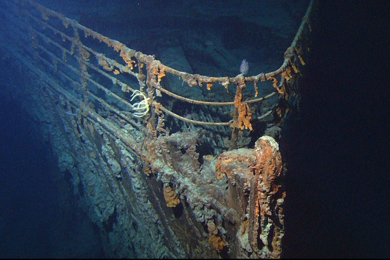 Повреждения «Титаника» ужаснули экспедицию
