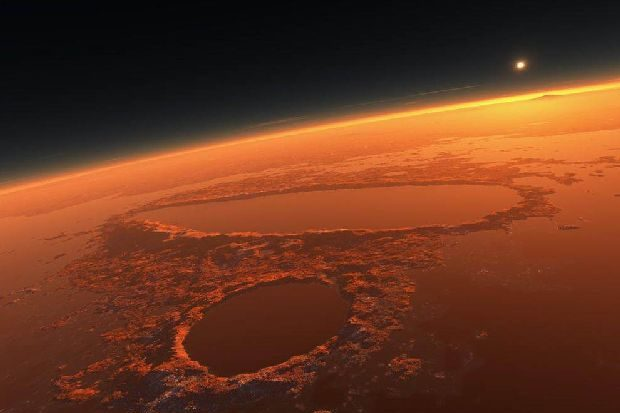 Фотограф изФинляндии создал впечатляющее видео из 50 тыс. снимков Марса