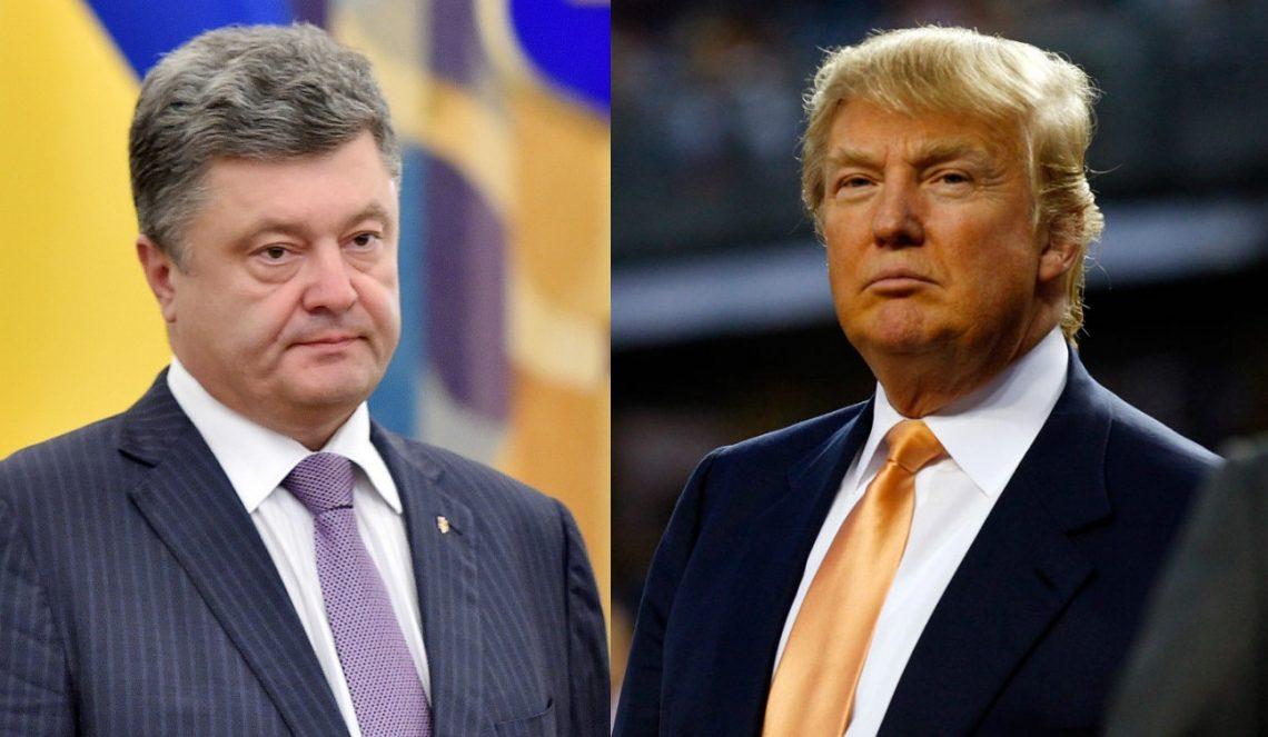 Киев назвал условия встречи Порошенко иТрампа