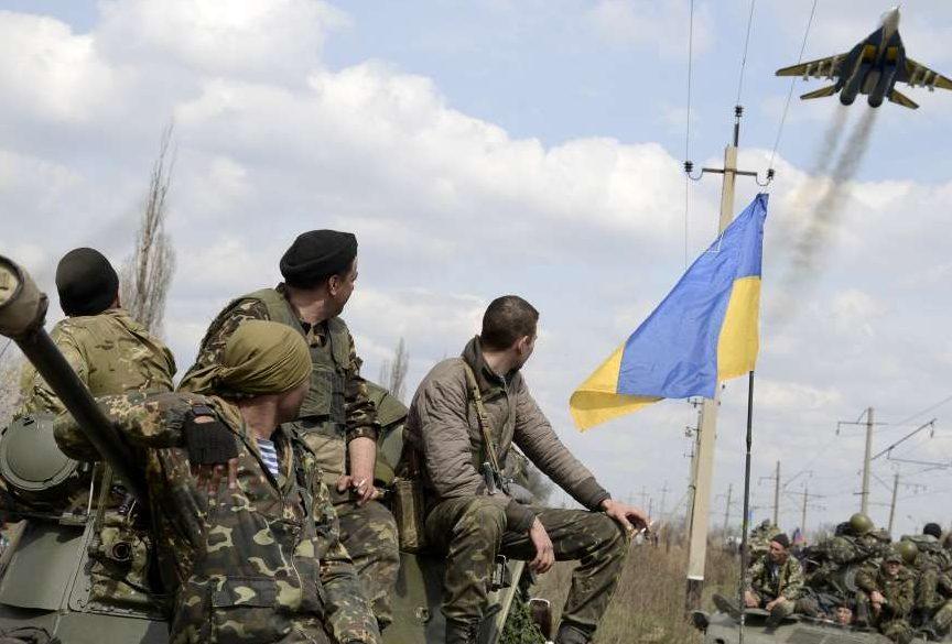Силы АТО отбили штурм боевиков уМарьинки,— штаб