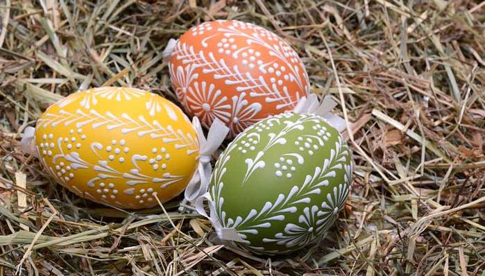 Как сделать сахарные пасхальные яйца 20