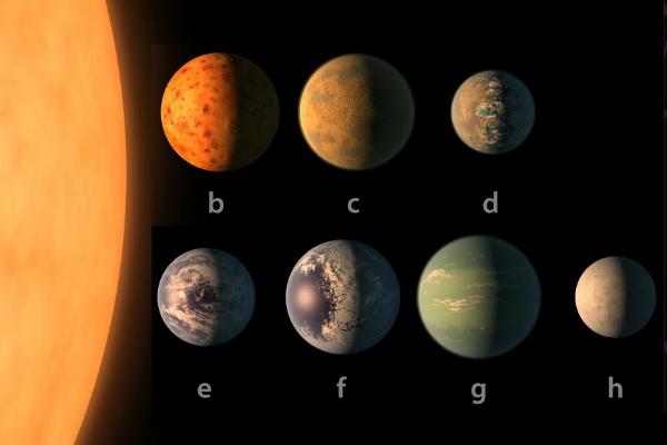 «Похожие наЗемлю» планеты системы TRAPPIST-1 признали непригодными для жизни