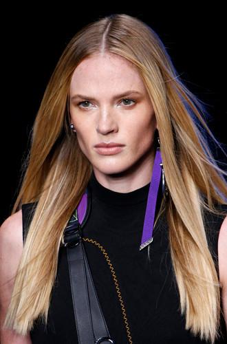 Модные окрашивания волос схема