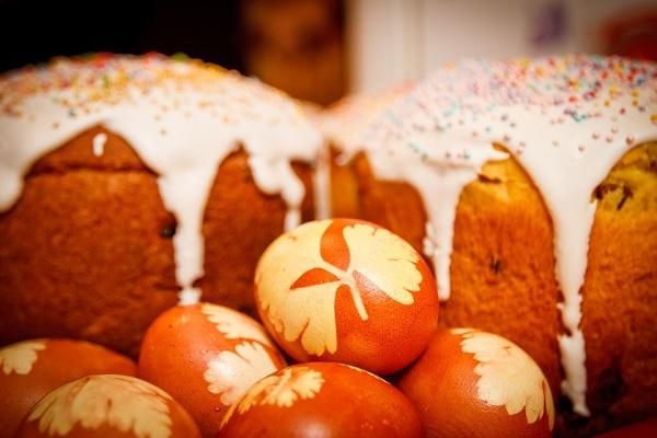 паска яйця