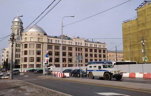 В столице России «замуровали» приемную президента