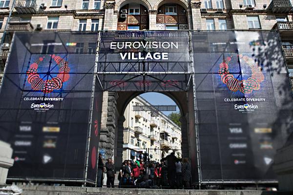 Непрошло инедели: снадписи «Eurovision» украли букву